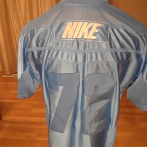 Nike Football Jersey 1972 Retro Stitched Baby Blue